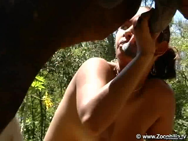 penetrates both holes with stallion s big dick